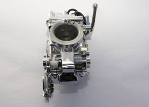 Custom 42mm PR/Mikuni Carburetor (polished & chromed)