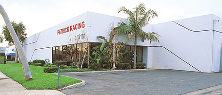 The new Patrick Racing Facility.